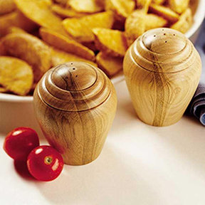 Downloadable Woodworking Project Plan to Build Turned Salt & Pepper Shakers