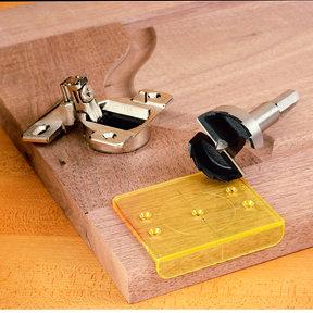 DrillRite 35mm Concealed Hinge Jig And Bit