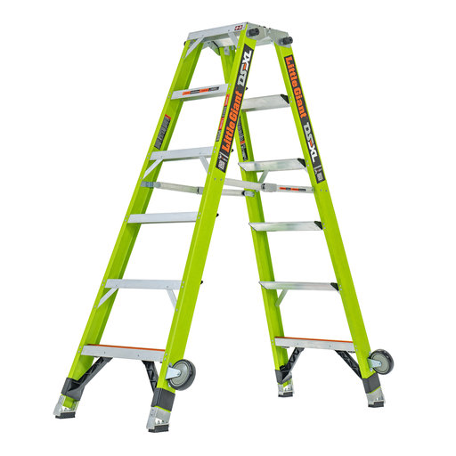 View a Larger Image of DS-XL 6' Articulated Extendable Ladder