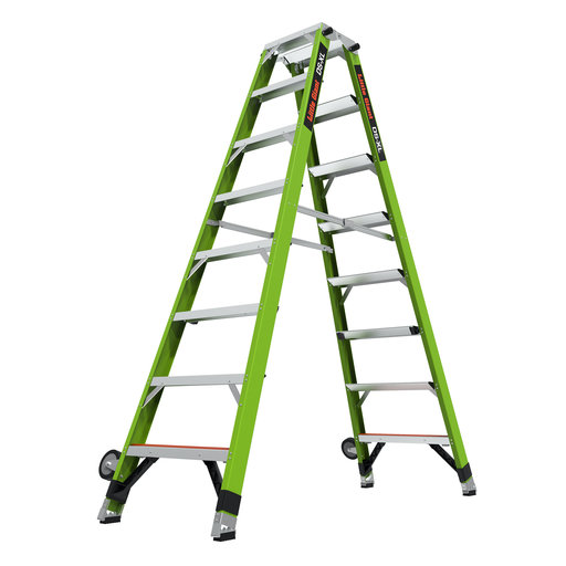 View a Larger Image of DS-XL 8' Articulated Extendable Ladder