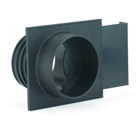 """Dust Collection Fitting, Blast Gate, ABS, 4"""" OD"""