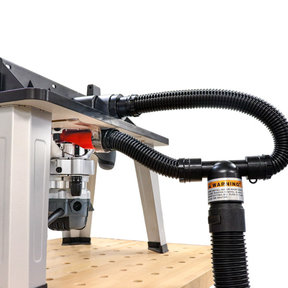 DustRouter - Router Dust Collection System