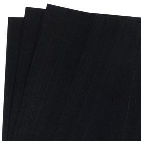 """12"""" x 12"""" 3 pc Pack Black Dyed Wood Veneer"""