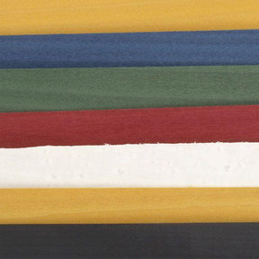 "Dyed Wood Veneer - 4-1/2"" to 6-1/2"" Width - Primary Colors - 3 Square Foot Pack"