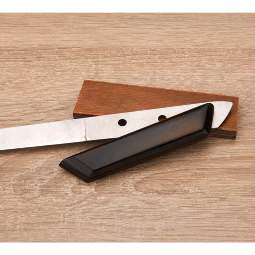 """View a Larger Image of Dymalux Knife Scale - 3/8"""" x 1-1/2"""" x 5"""" - Buckskin- 2 pc."""