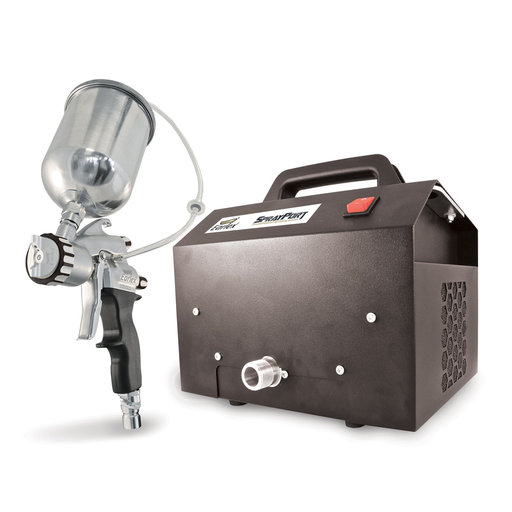 View a Larger Image of SprayPort 6003 with Gravity Feed Pro 8 Spray Gun, 6003-G