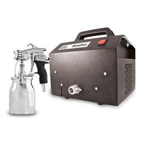 SprayPort 6003 with Pressure Feed Pro 8 Spray Gun, 6003-P