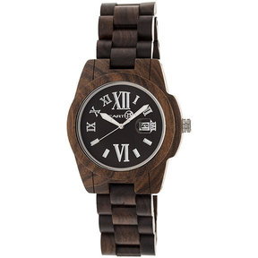 Earth Ew1502 Heartwood Watch, Dark Brown