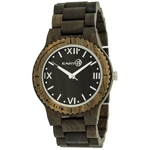 View a Larger Image of Earth Ew3502 Bighorn Wood Watch, Dark Brown
