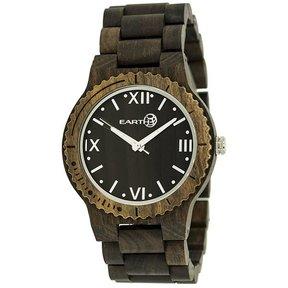 Earth Ew3502 Bighorn Wood Watch, Dark Brown