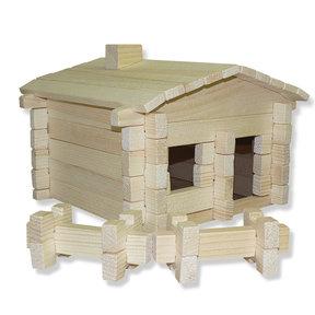 Earth Friendly Log Cabin 83 pc Set