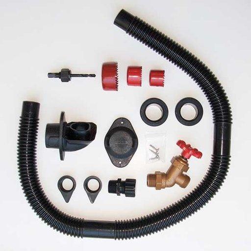 View a Larger Image of DIY Rain Barrel Diverter and Parts Kit