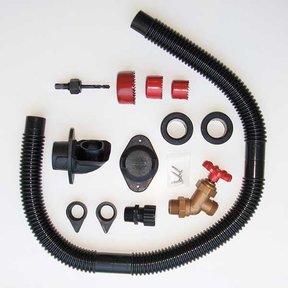 DIY Rain Barrel Diverter and Parts Kit