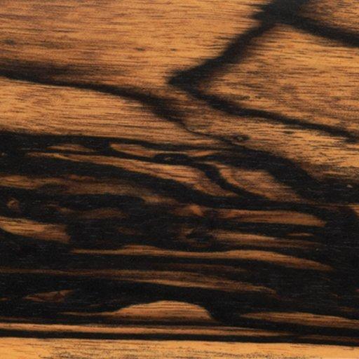 "View a Larger Image of Ebony, Black & White 3/8"" x 3"" x 24"""