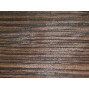 """Ebony, Macassar Wood Veneer - 4-1/2"""" to 6-1/2"""" Width - 3 Square Foot Pack"""