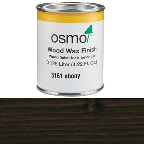 Ebony Wood Wax 3161 Solvent Based .125 l