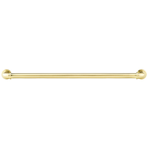 """View a Larger Image of Eclectic Pull, 12-5/8"""" Center-to-Center, Satin Brass"""
