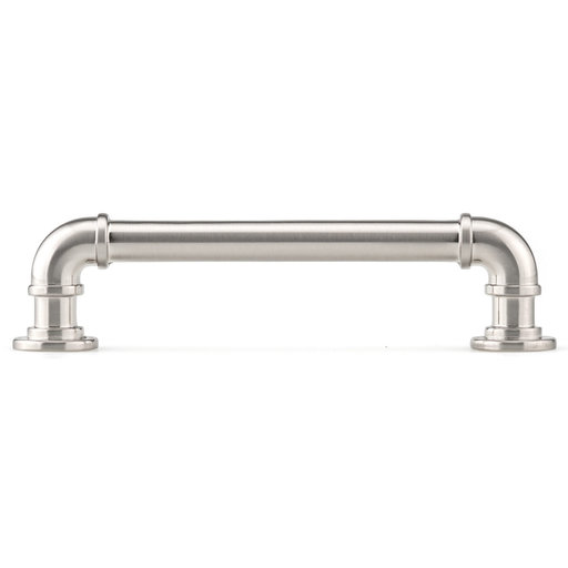 """View a Larger Image of Eclectic Pull, 5-1/16"""" Center-to-Center, Brushed Nickel"""