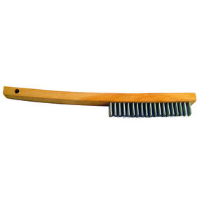 """Econo Curved Handle Wire Brush 14"""""""
