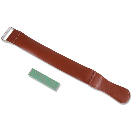 View a Larger Image of Precision Sharpening System Super Fine Stone & Leather Strop