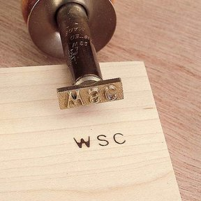 Electric Initial Branding Iron, Complete Kit