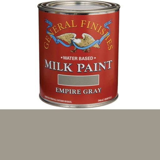 View a Larger Image of Empire Gray Milk Paint Water Based Quart