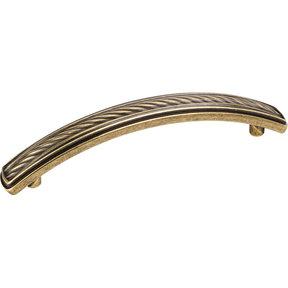 Encada Rope Pull, 96 mm C/C,  Distressed Antique Brass