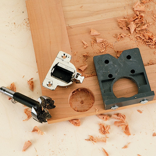 View a Larger Image of Easy-Drill Concealed Hinge Drilling Jig