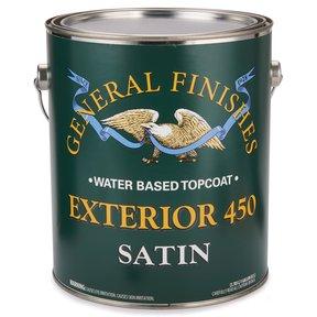 Satin Exterior 450 Varnish Water Based Gallon