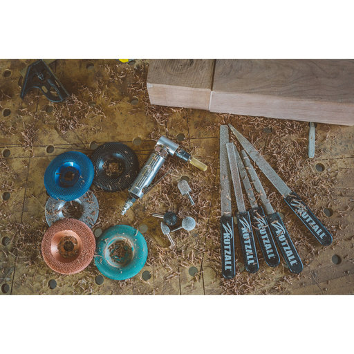 """View a Larger Image of Extreme Ball Nose Burr, 1/4"""" Shaft, Very Coarse (1/2"""" x 1-1/2"""")"""