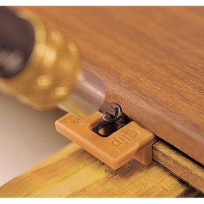 Extreme Ipe Clip Hidden Deck Fastener Kit, (1050 pcs), Brown