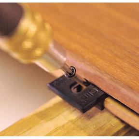 Extreme Ipe Clip Hidden Deck Fastener Kit, (175 pack), Black