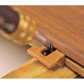 Extreme Ipe Clip Hidden Deck Fastener Kit, (525 pc), Brown
