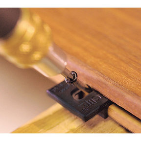 Extreme Ipe Clip Hidden Deck Fastener Kit, (525 pcs), Black