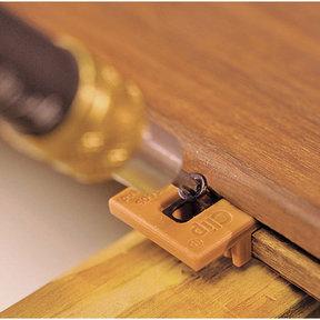 Extreme4 Ipe Clip Hidden Deck Fastener Kit, (1050 pcs), Brown