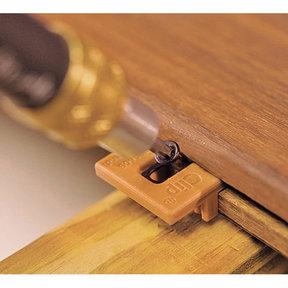 Extreme4 Ipe Clip Hidden Deck Fastener Kit, (175 Pack), Brown