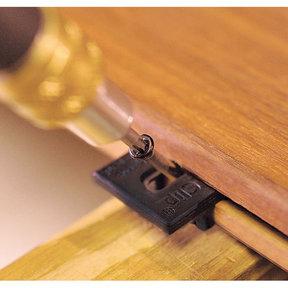 Extreme4 Ipe Clip Hidden Deck Fastener Kit, (525 pc), Black