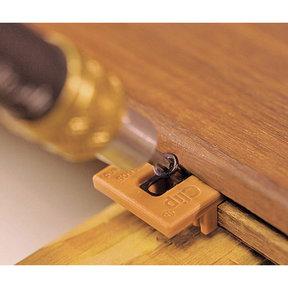 Extreme4 Ipe Clip Hidden Deck Fastener Kit, (525 pc), Brown