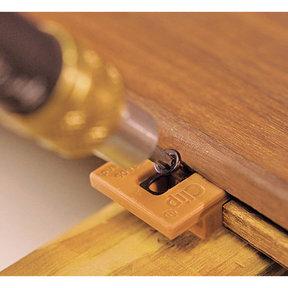 ExtremeKD Ipe Clip Hidden Deck Fastener Kit, (1050 pcs), Brown