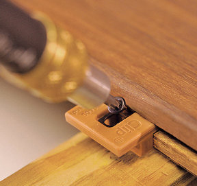 ExtremeKD Ipe Clip Hidden Deck Fastener Kit, (175 pack), Brown