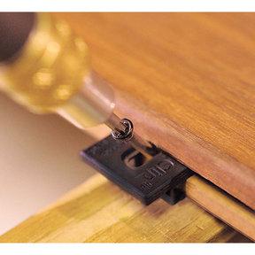 ExtremeKD Ipe Clip Hidden Deck Fastener Kit, (525 pcs), Black
