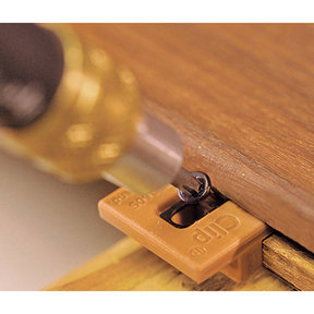 ExtremeKD Ipe Clip Hidden Deck Fastener Kit, (525 pcs), Brown