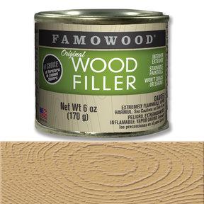 Alder Wood Filler Solvent Based 6 oz