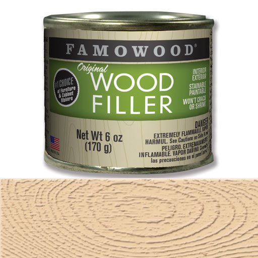 View a Larger Image of Birch Wood Filler Solvent Based 6 oz