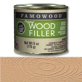 Fir Wood Filler Solvent Based 6 oz