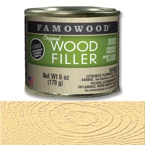 Natural Wood Filler Solvent Based 6 oz