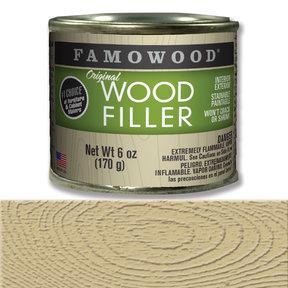 Oak Wood Filler Solvent Based 6 oz
