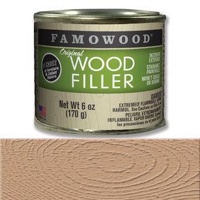 Red Oak Wood Filler Solvent Based 6 oz