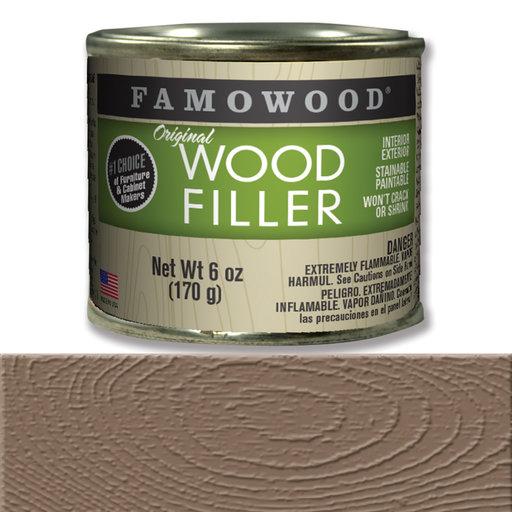 View a Larger Image of Walnut Wood Filler Solvent Based 6 oz