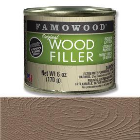 Walnut Wood Filler Solvent Based 6 oz